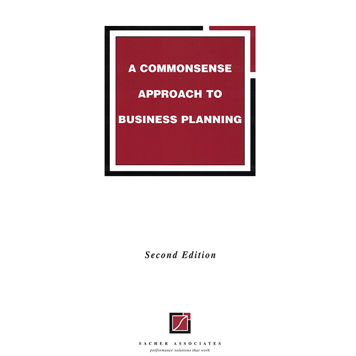 A commonsense approach to business planning