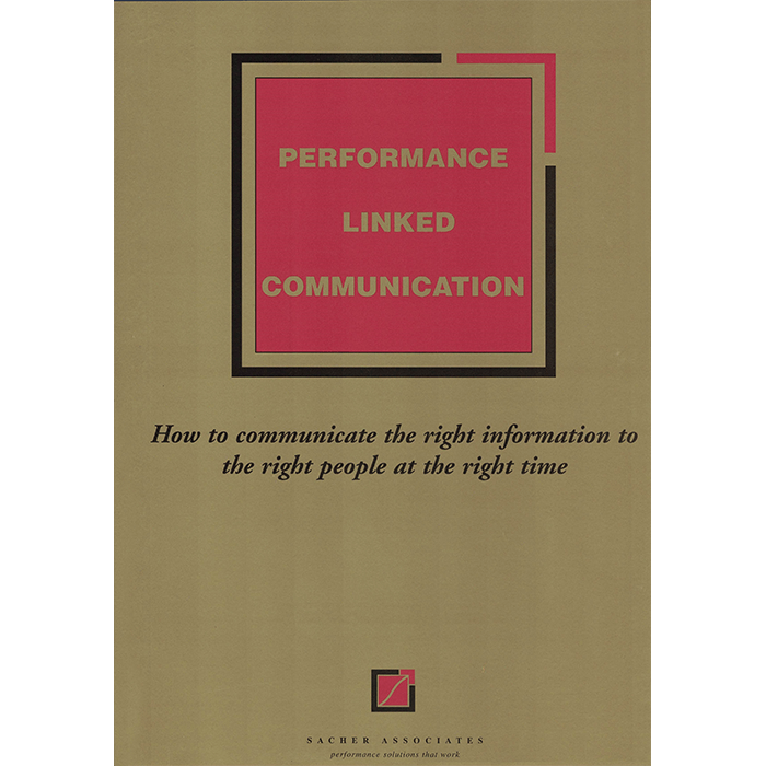 Performance-linked communication