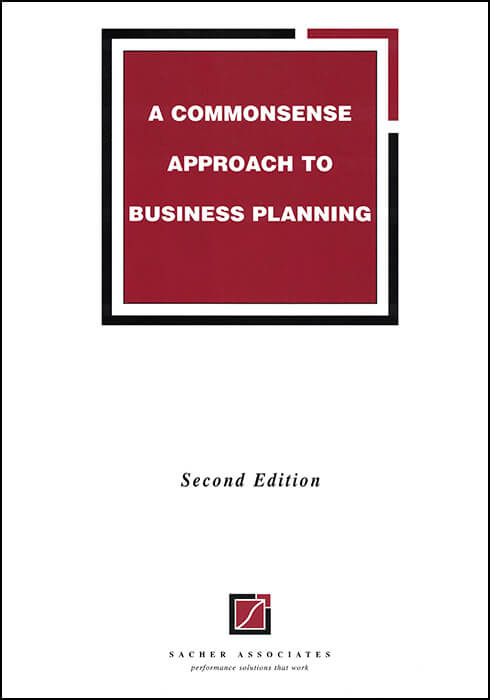A commonsense approach to business planning EBook