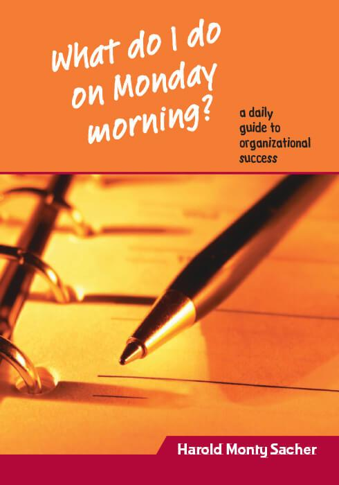 What do I do on Monday morning? EBook