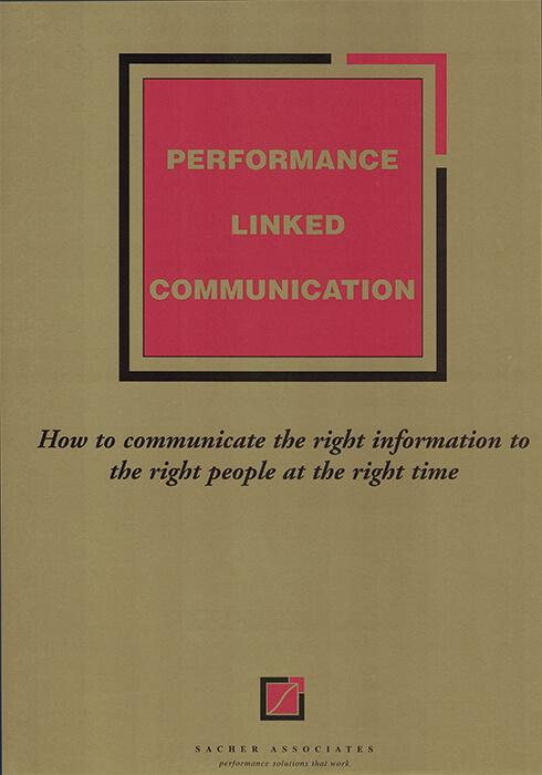 Performance-linked communication EBook